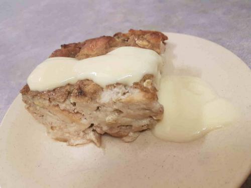 Budin (Latin Style Banana Bread Pudding)