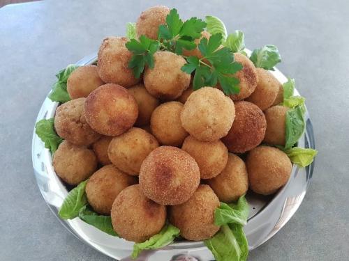 Mushroom Arancini Balls (GF)