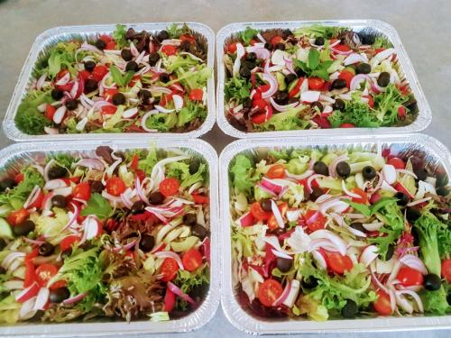 Mixed Salad with LMI Special Blend Dressing (GF)