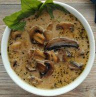 Cream of Mushroom Soup (GF)