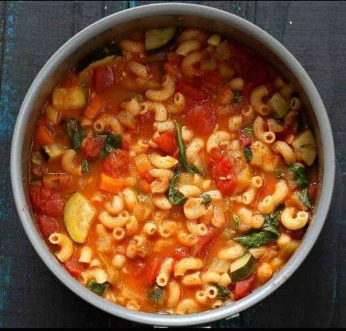 Minestrone Medley with Pasta
